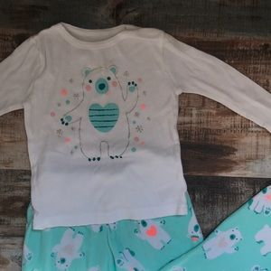 Cat & Jack 4T Fleece pajama set